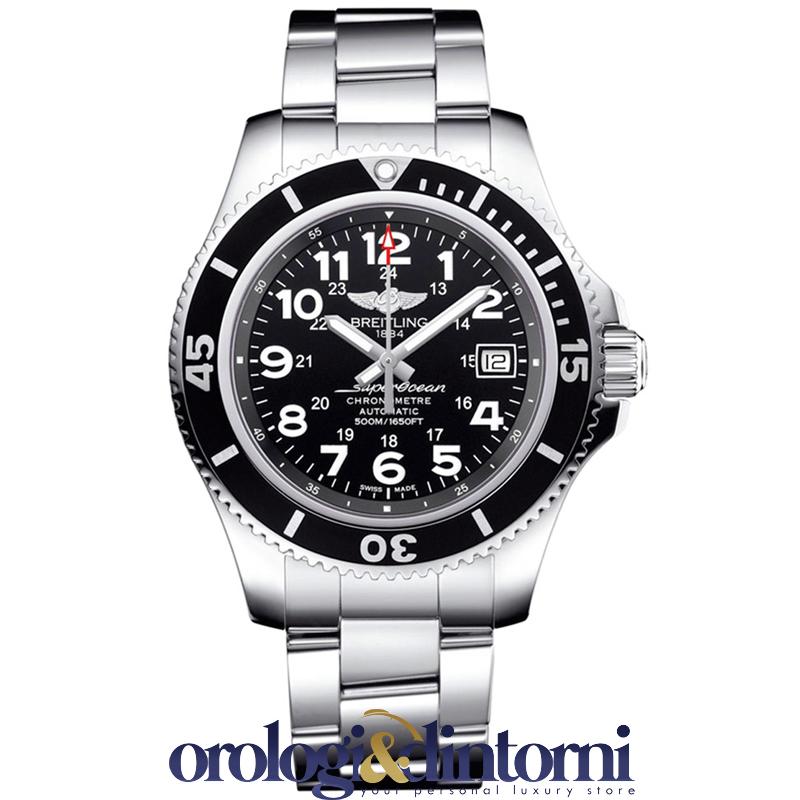 a046f9e801a Nuovo Orologio Automatico Breitling Breitling Superocean II 42 ref  A17365C9 BD67
