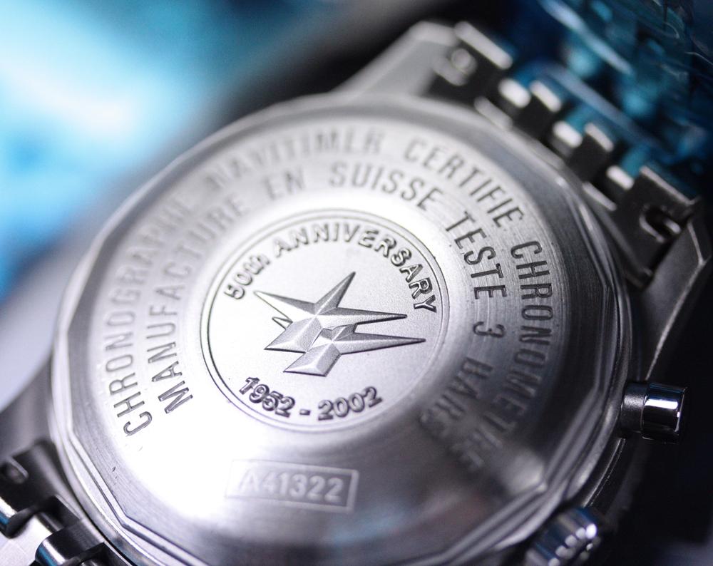 2002 Orologio Breitling Navitimer 50th Anniversary A4132212 Revisione Breitling | eBay