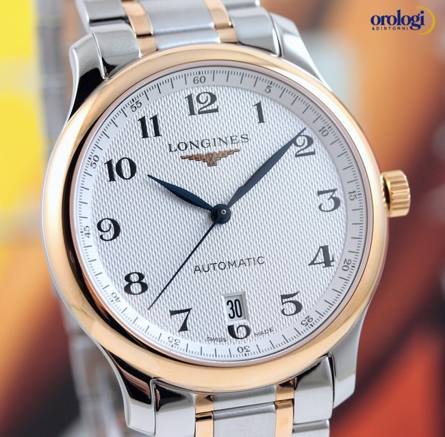 f7e94db4b9249 Longines Master Collection Date ref. L2.628.5.79.7 - Orologi Dintorni