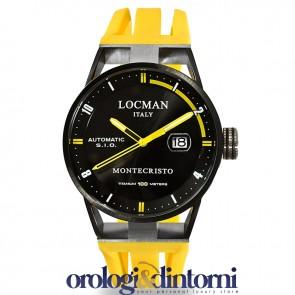 Locman Montecristo Automatic Steel / Titanium ref. 0511BKBKFYL0GOY