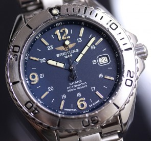 1994 Breitling Shark Automatic 42mm ref. A17605