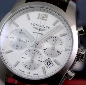 Longines Conquest Classic 41mm Chronograph ref. L2.786.4.76.3