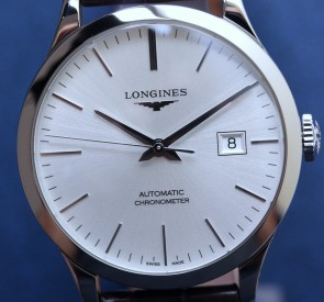 Longines Record 40mm Automatic Chronometer ref. L2.821.4.72.2