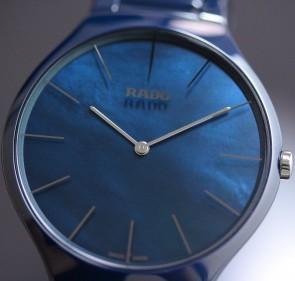 Rado True Thinline Blue Ceramic ref. R27005902