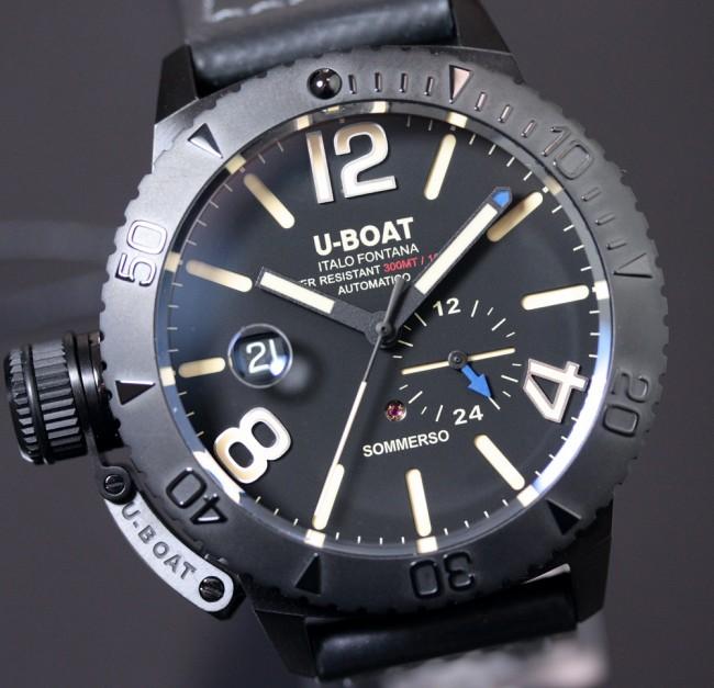 u boat sommerso  U-Boat Classico Sommerso DLC ref. 9015 - Orologi&Dintorni