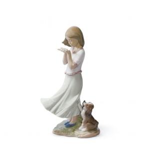 Lladro Porcellana PETALI AL VENTO ref. 01008121
