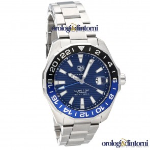 Tag Heuer Aquaracer 300M Calibro 7 GMT ref. WAY201T.BA0927