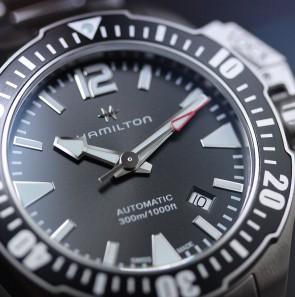 Hamilton Khaki Navy Frogman ref. H77605135