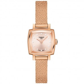 Tissot T-Lady Lovely Square Quarzo Lady Oro Rosa ref. T0581093345600