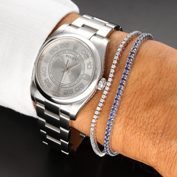 Orologio Secondo Polso Rolex Oyster Perpetual 36 ref. 116000