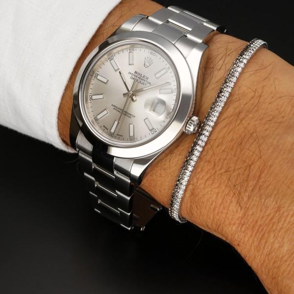 Orologio Secondo Polso Rolex Datejust II ref. 116300
