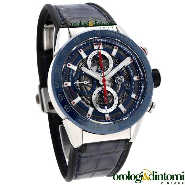 Orologio Secondo Polso TAG Heuer Carrera Calibre Heuer 01 ref. CAR201T.FC6406
