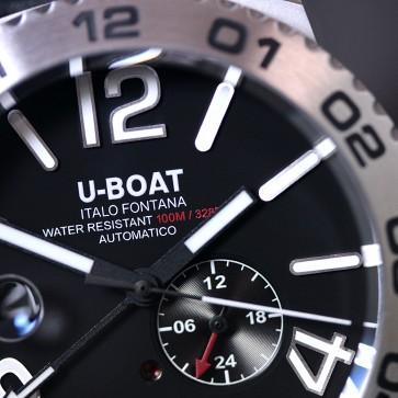 U-Boat Doppiotempo Auto SS ref. 9099