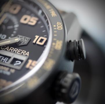 TAG Heuer Carrera Calibre 16 Black Titanium ref. CV2A84.FC6394