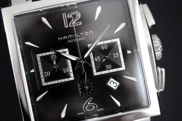 Hamilton Jazzmaster Square Chronograph ref. H32666535