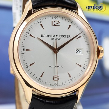 Baume & Mercier Clifton Automatic 18K Red Gold ref. 10058