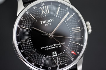 Tissot Chemin Des Tourelles Powermatic 80 GMT ref. T0994291605800