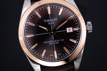Tissot T-Gold Gentlemen Automatic Powermatic 80 ref. T9274074629100