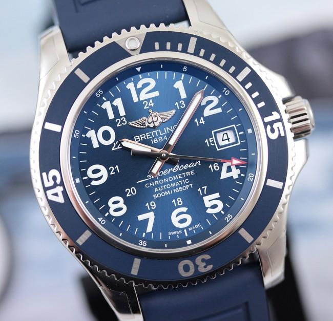 0325e25583e Breitling Superocean II 42 ref. A17365D1 C915 148S - Orologi Dintorni