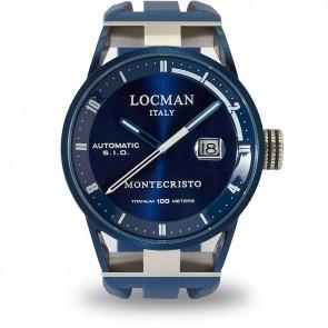 Locman Montecristo Automatic Steel / Titanium ref. 0511BLBLFWH0SIB