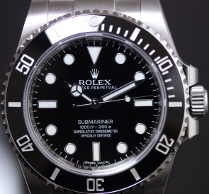 Rolex Submariner No-Date ref. 114060