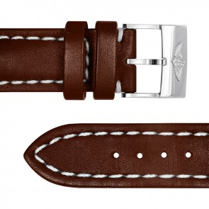 Breitling Leather Strap/Steel Buckle Brown - Cowhide 20-18 ref. 431X