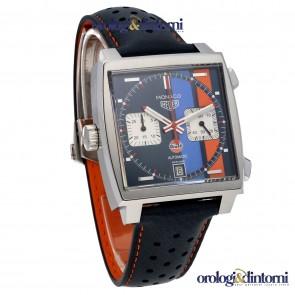 TAG Heuer Monaco Calibre 11 Gulf Edition ref. CAW211R.FC6401