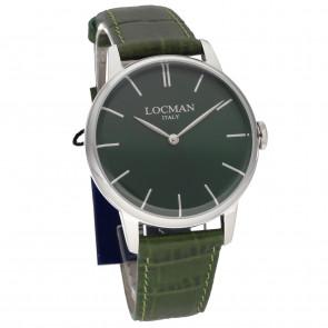 Locman 1960 Only Time 41mm Green ref. 0251V03-00GRNKPG