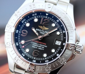 Breitling SuperOcean Steelfish GMT Limited ref. A32360