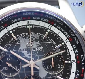 Breitling Transocean Chronograph Unitime ref. AB0510U4/BE84/256S