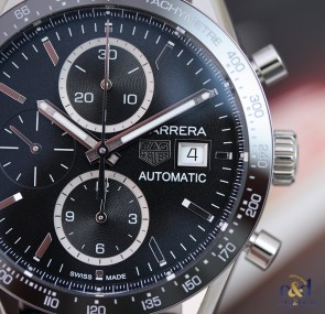 TAG Heuer Carrera Chronograph Automatic Calibre 16 ref. CV201AJ.FC6357
