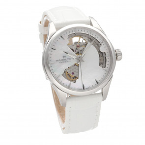 Hamilton Jazzmaster Open Heart Ladies Mother Of Pearl ref. H32215890