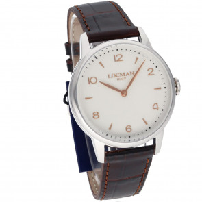 Locman 1960 Only Time White 41mm ref. 0251A05R-00AVRG2PT