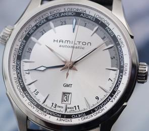 Hamilton Jazzmaster GMT ref. H32605551