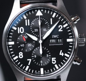 IWC Pilot's Watch Chronograph ref. IW377709
