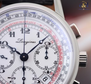Longines Heritage Tachymeter Chronograph ref. L2.781.4.13.2