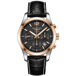 Longines Conquest Classic Chrono Steel & Rose Gold ref. L2.786.5.56.3