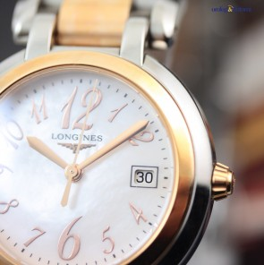 Longines PrimaLuna Steel and Rose Gold ref. L8.112.5.83.6