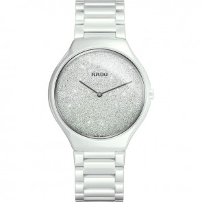 Rado True Thinline White Ceramic R27007092