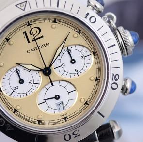 1997 Cartier Pasha Chrono ref. W3100355 / 1050