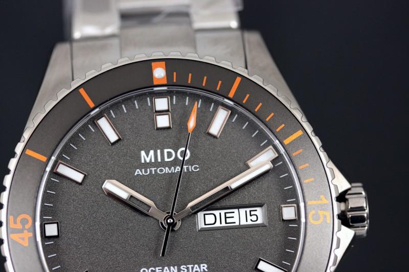 Mido Ocean Star Titanium ref. M0264304406100
