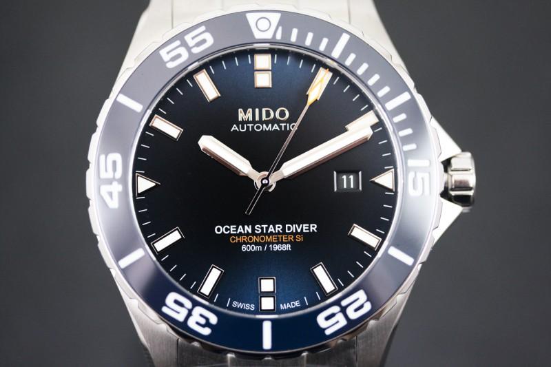 Mido Ocean Star Diver 600 ref. M0266081104100