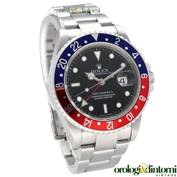 Pre-Owned Watch Rolex GMT Master II 16710 ref. 16710