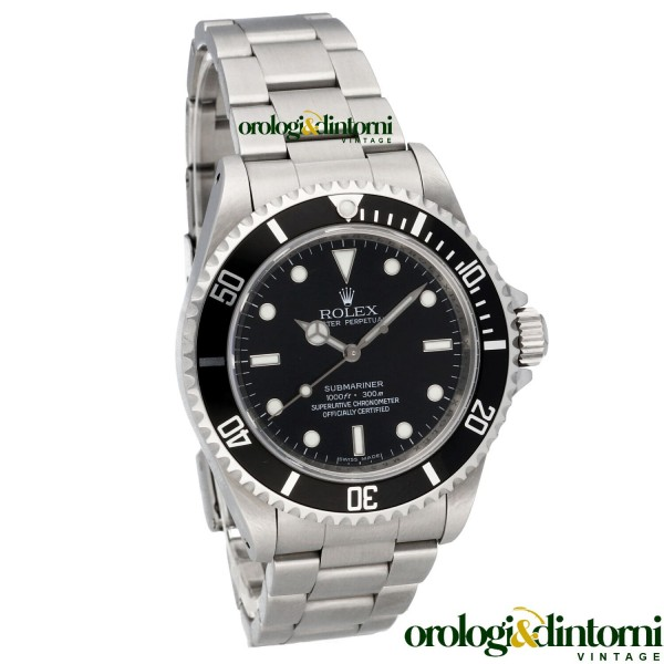 Pre-Owned Watch Rolex Oyster Perpetual Rolex Submariner No-Date ref. 14060M