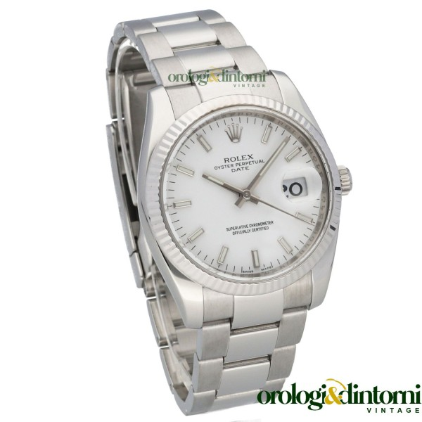 Pre-Owned Watch Rolex Oyster Perpetual Date 34 ref. 115234