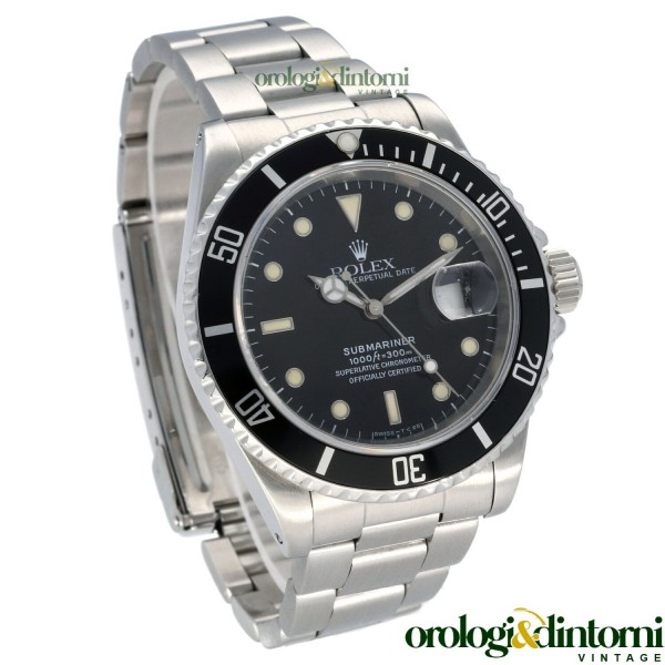 Pre-Owned Watch Rolex Submariner Date ref. 16610