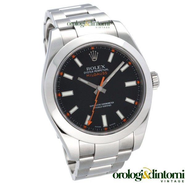 Pre-Owned Watch Rolex Oyster Perpetual Milgauss ref. 116400