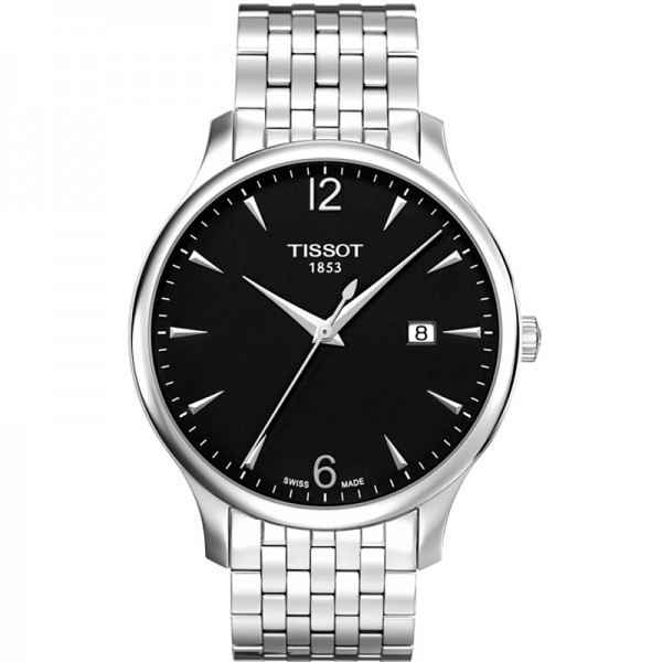 Tissot T-Classic Tradition Quartz Steel Black ref. T0636101105700
