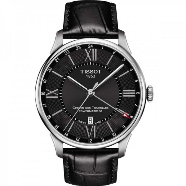 Tissot Chemin Des Tourelles Powermatic 80 GMT ref. T0994291605800