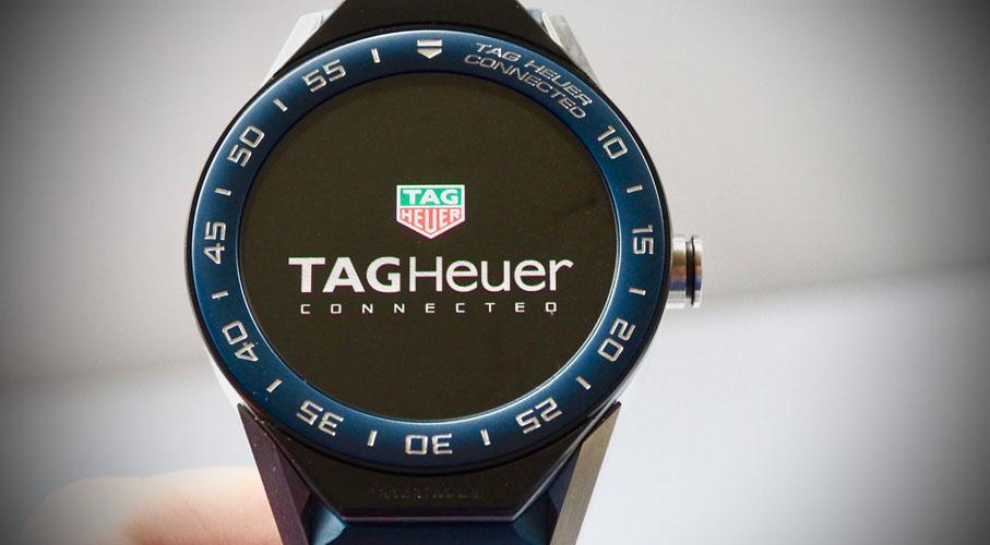 orologio smartwatch tag heuer